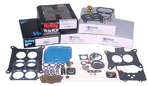 Carburetor kits parts and Holley Ford Rochester more