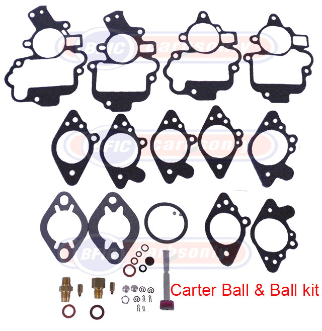 Carter Ball & Ball carburetor kit