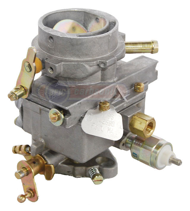Zenith carburetor with hand choke and solenoid click to enlarge