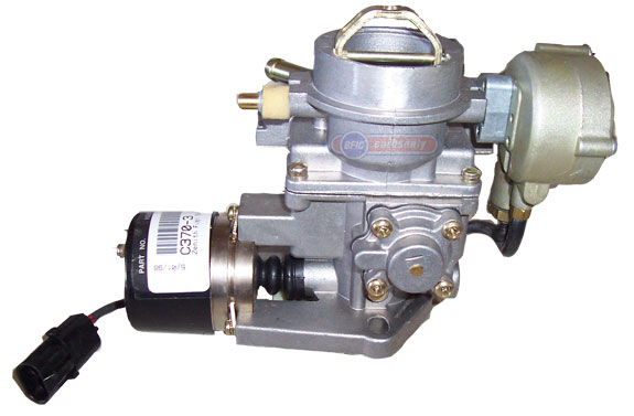 Zenith carburetor model 33 electric choke and electric throttle click to enlarge