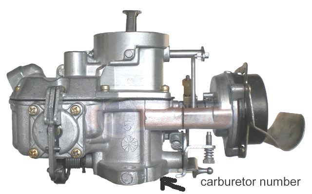 Carburetor Ford 1100 model click to enlarge
